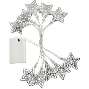 Buy 10 Filigree Star Shaped String Lights at Argos.co.uk, visit Argos.co.uk to shop online for Novelty lighting, Novelty lights