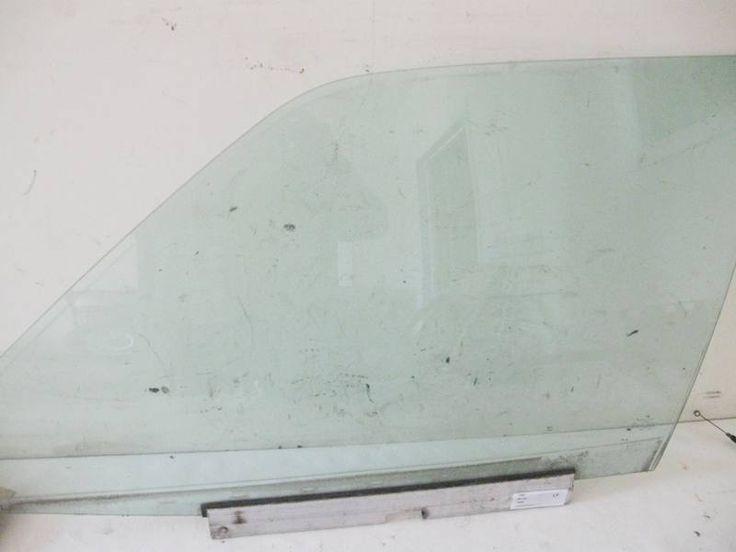 Glass - W124 Left Front Door Mercedes 300e 1247200318
