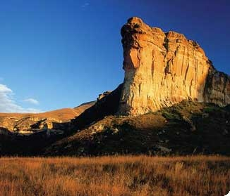 Golden Gate National Park, Free State, South Africa.