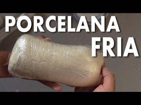 PORCELANA FRÍA , PASTA O MASA FLEXIBLE - COLD PORCELAIN - YouTube