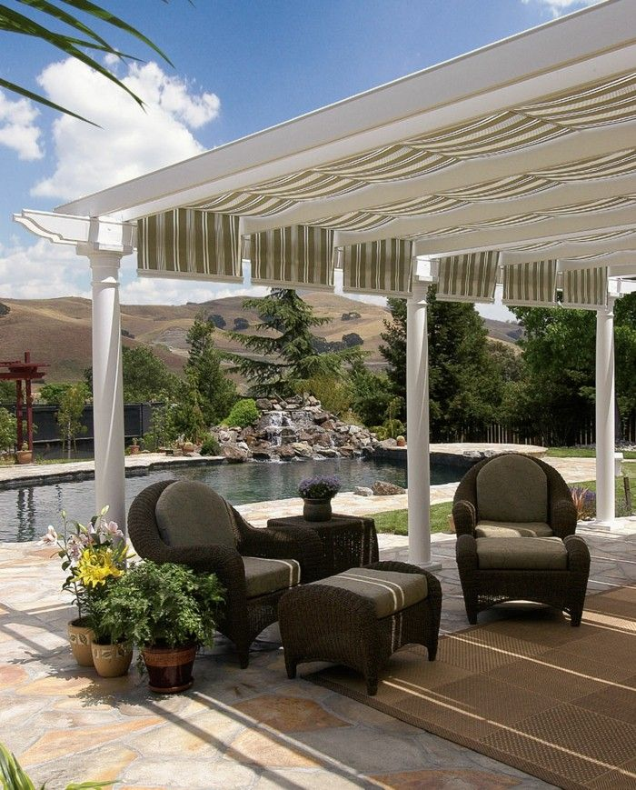 Find This Pin And More On Terrace, Pergola, Canopy By Lyndaluft.