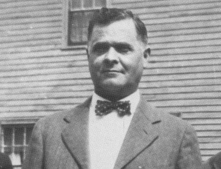 """John P Colby, one of the """"dogmen"""" freaks responsible for the modern pit bull.  One of his pits killed his nephew in 1909.  In a classic pit bull owner response, Colby claimed he'd carefully closed the gate to the dog yard, but """"somehow"""" the 2yo got in and """"something"""" set off the pit.  http://www.ultimatepitbullforum.com/viewtopic.php?f=8&t=993 (a pit forum, so  all the standard excuses are trotted out)"""