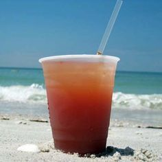 Rum Runner --//   2 oz orange juice   / 2 oz light rum   / 0.75 oz blackberry brandy   / 0.75 oz banana liqueur   / 1 t grenadine   / ice cubes   / 1 oz dark rum   / 2 oz pineapple juice //Pour all liquids except dark rum into a large glass. Fill the the glass with ice cubes and stir vigorously. Float the dark rum on top and stir gently.
