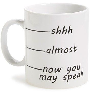 'Shhh' Coffee Mug