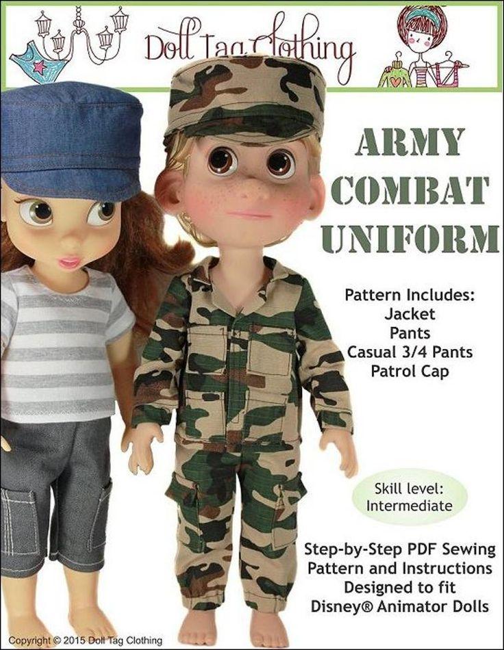 Army Combat Uniform - Disney Animator   Craftsy