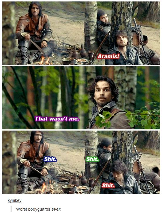 The Musketeers - 1x09 - Knight Takes Queen, 'Worst bodyguards ever...'
