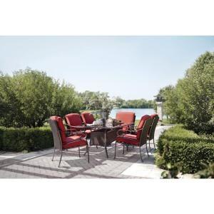 Captivating Martha Stewart Living, Cedar Island 7 Piece Patio Dining Set, DY4035 7PC