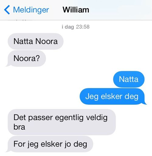 Skam william + noora