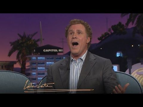 Will Ferrell Sings the Female Vocals From the Original 'Star Trek' Theme Song on 'The Late Late Show'