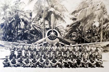The famous Black Sheep Squadron