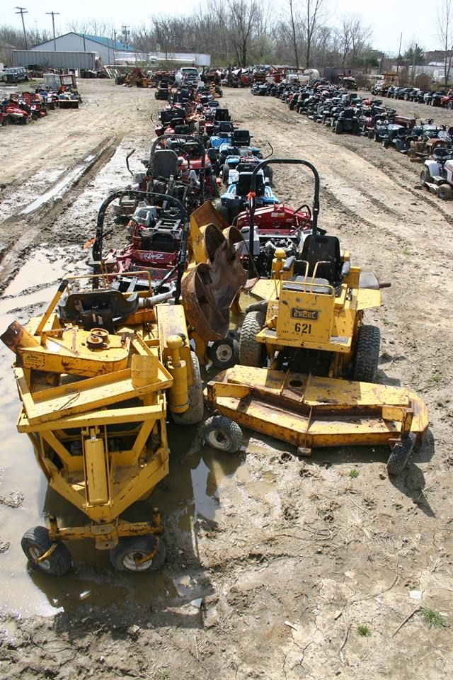 Lawn Tractor Salvage Yards : Best ideas about zero turn mowers on pinterest used