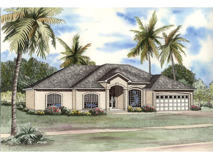 good sunbelt house plans #3: 408 best House Plans images on Pinterest   Haciendas, Bungalow exterior and  Car garage