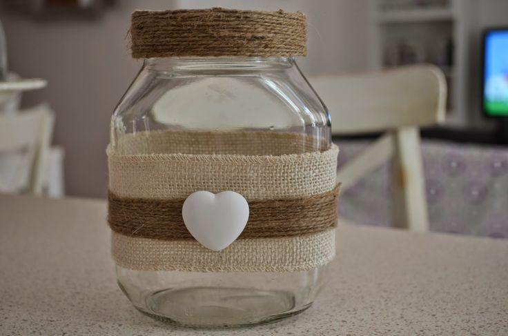 riciclando i barattoli di nutella