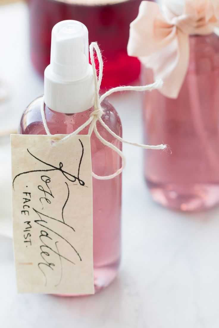 DIY Refreshing Rosewater Face Mist Rose water face mist