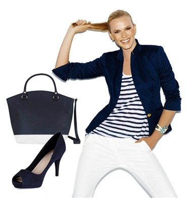El 'navy', un básico de tu armario #primavera #verano. Para ir a la oficina, nos quedamos con esta propuesta de @SUITEBLANCO