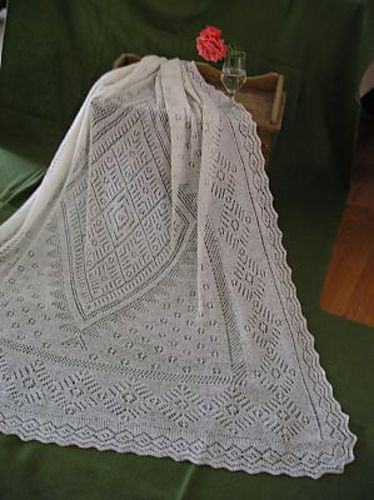 True Orenburg Lace Shawl...one of these days I'll be good enough to do it