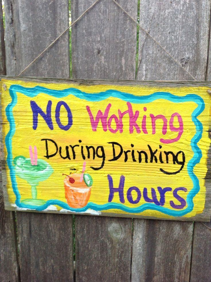 Tiki bar signs