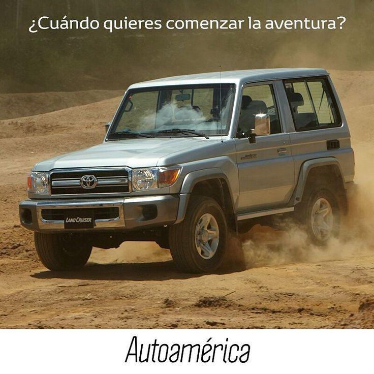 #LandCruiser, el 4x4 que te lleva a cualquier parte. Revive la leyenda y agenda tu próxima aventura en una prueba de ruta en #Autoamérica. ¿Cuándo quieres comenzar? https://goo.gl/uUyxTp    #ToyotaEsToyota #Autoamérica #ToyotaColombia #Toyotero #Toyotalover #OffRoad #TeamToyota #ToyotaNation #Toyoteros #4x4 #Toyota #MantenimientoExpress #quickrepair #RepuestosGenuinosAutoamérica #ARB #ARBColombia #Solucar #OldManEmu #AeroKlas #MileMarker #HinoColombia #Hino #HinoToyota #HinoAutoamérica