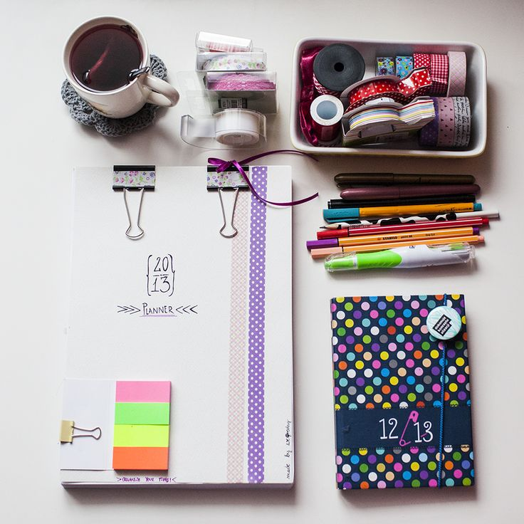 we grochy: Organize Your Time {DIY 2013 Orginazing Planner}