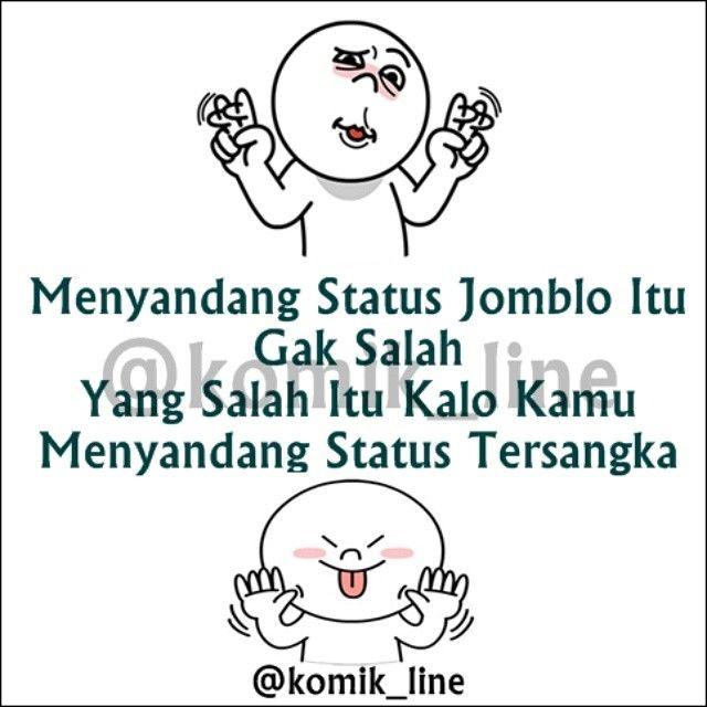 "@komik_line's photo: ""Bener gak mblo ? #komik_line"""