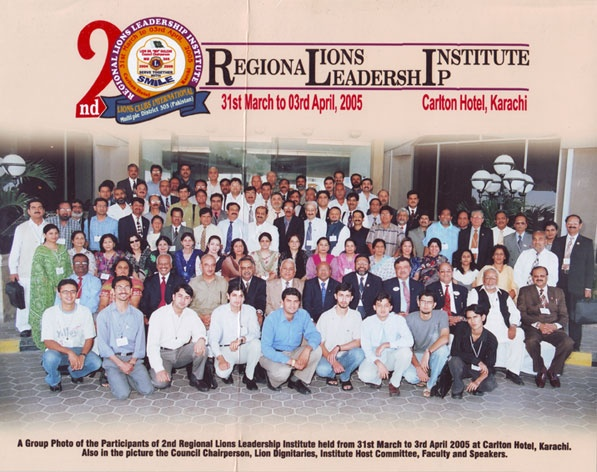 DR THAKER with the participants of the senior level regional leadership institute