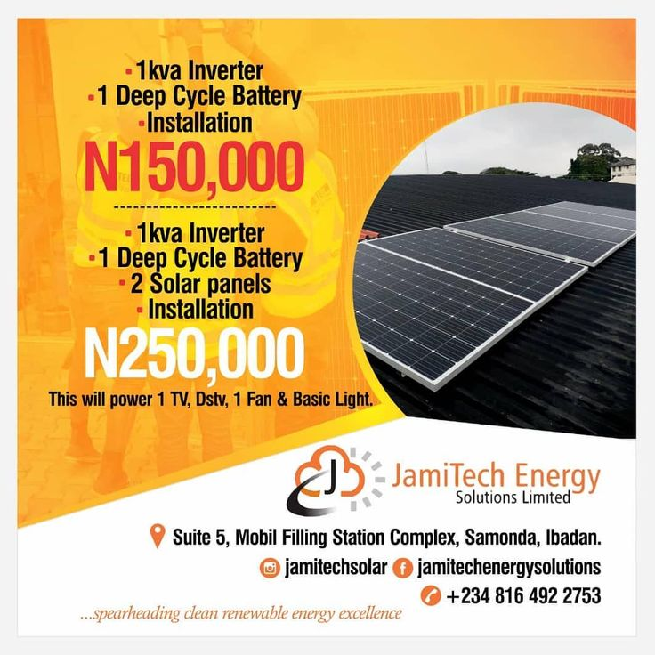 1kva Inverter 1 Unit Of 200ah Battery Installation Without Solar N150 000 With Solar N250 Filling Station Deep Cycle Battery Solar Panel Installation