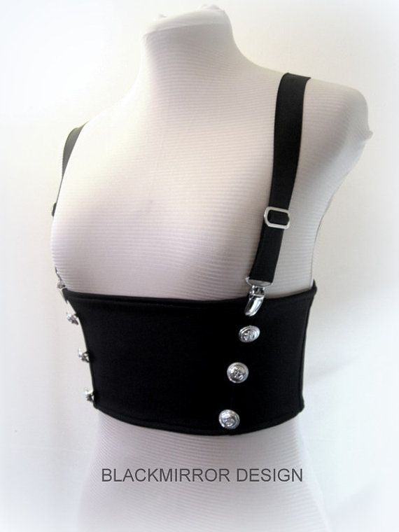 Underbust corset-band with braces