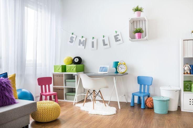 Aby osłodzić najmłodszym koniec wakacji, zaproponuj dziecku kolorową i wesołą aranżację jego pokoju :)