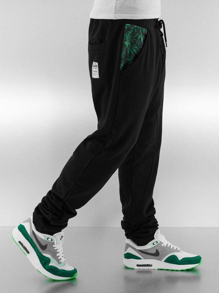 Weed Sweat Pants Black - Dangerous DNGRS - Urban City - skateshop, streetwear, Hip Hop odzież z USA, Europy i Polski