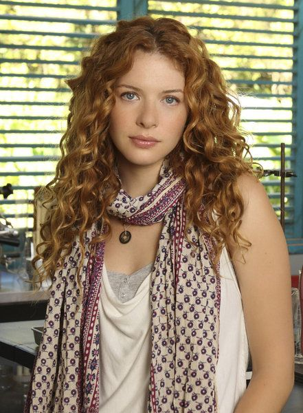 Rowena Conway (Rachelle Lefevre) when she's older. She looses her unique hair color to just a pretty ginger.