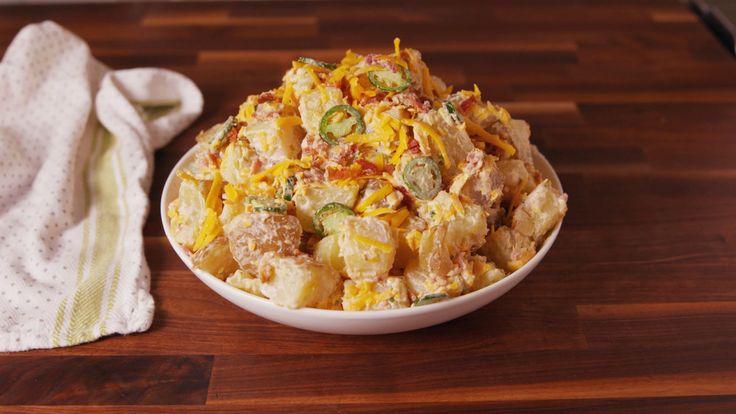Jalapeño Popper Potato Salad