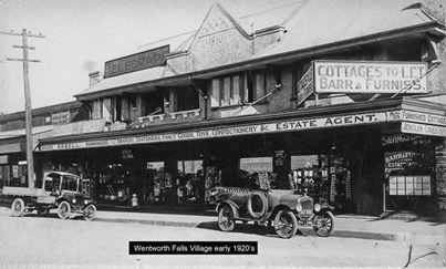 Wentworth Falls 1920's