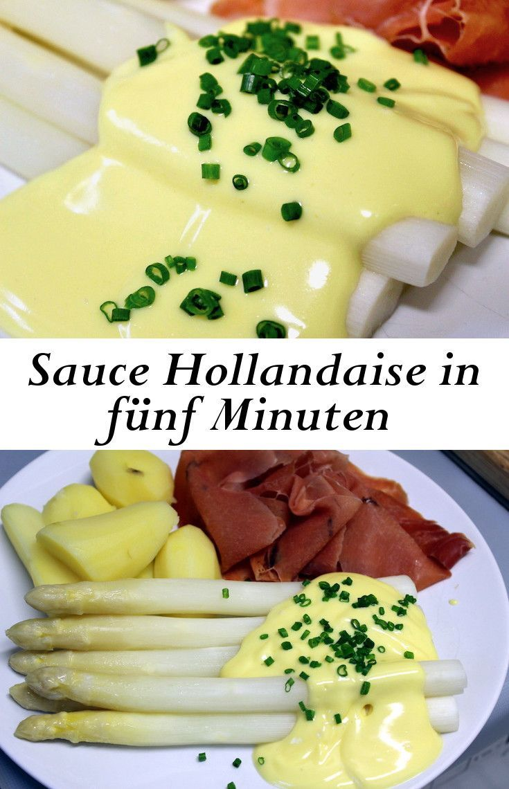 Sauce Hollandaise in fünf Minunten in 20   Hollandaise sauce ...