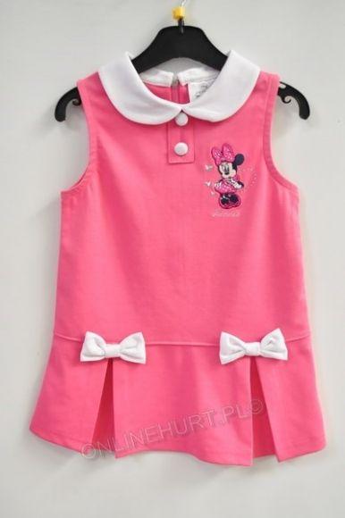 Sukienka dziewczęca EN1046  _A12  (3-8)