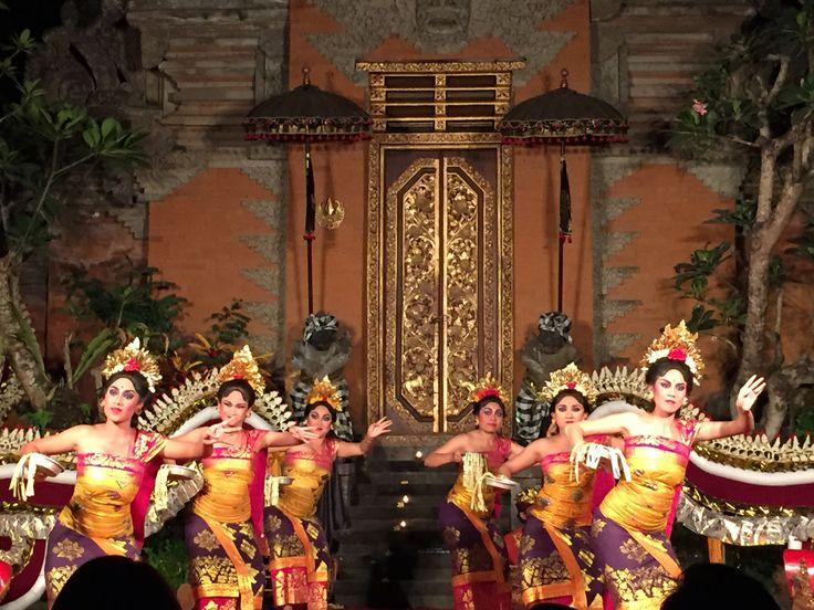 Balinese Legong dance Ubud palace