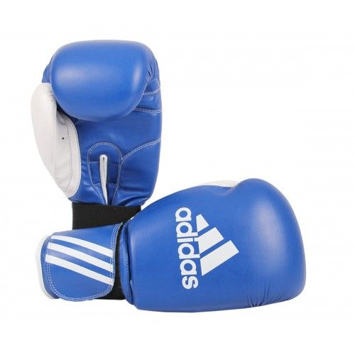 Adidas ADIBT01SMU Response Boks Eldiveni Mavi-Beyaz