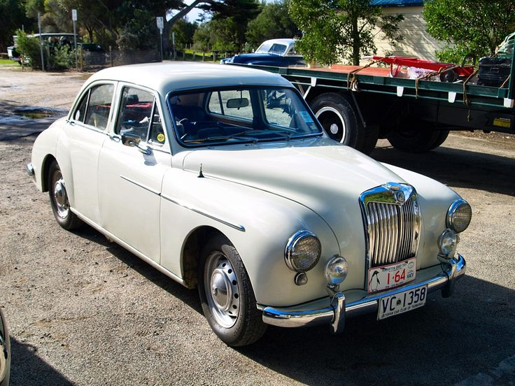 vintage cars | Classic MG What a wonderful mixture of vintage and classic cars the ...