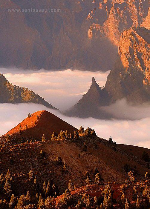 PN de la Caldera de Taburiente, Isla de La Palma, Canarias. Spain by Saul Santos Diaz