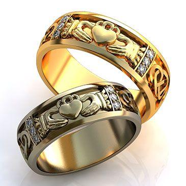 """Обручальные кольца """"Мое сердце в твоих руках"""""""