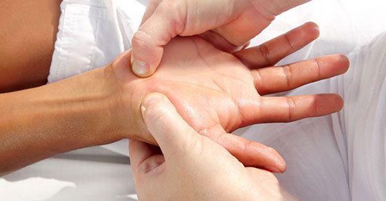 Reflexná masáž ruky – ako na to