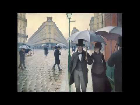 Gustave Caillebotte, Paris Street; Rainy Day, 1877 - YouTube