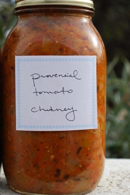Provencial tomato chutney