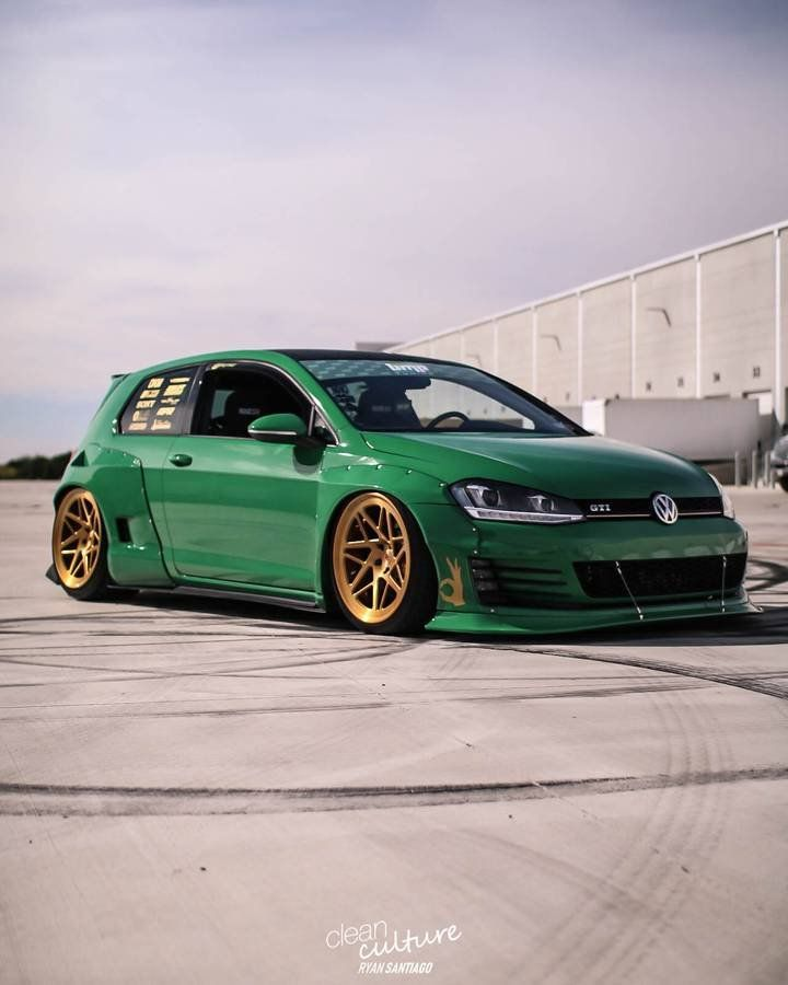 Find Of The Day Rocket Bunny Widebody Gti Mk6 Gti Modified