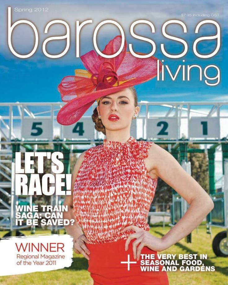 Jason Hamer - Creative Director for Spring 2012 Barossa Living magazine.