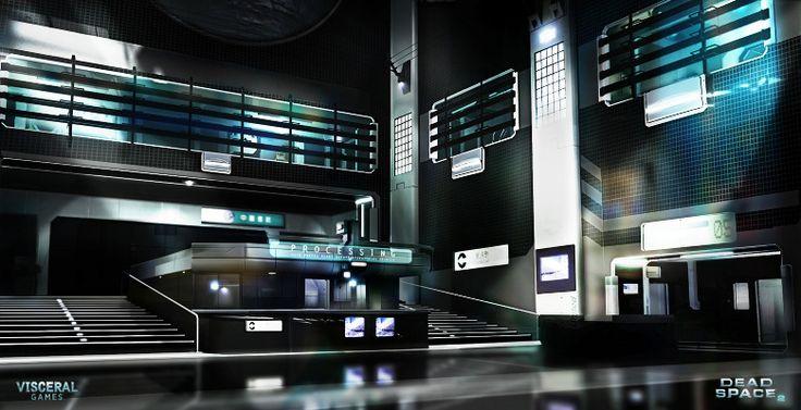 「데드 스페이스 2」컨셉 아트   Daum 루리웹