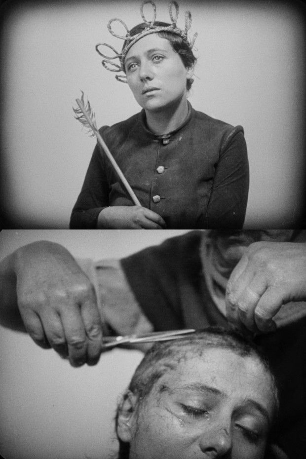 The Passion of Joan of Arc - 1928 classic from the silent era of film, directed by Carl Theodor Dreyer