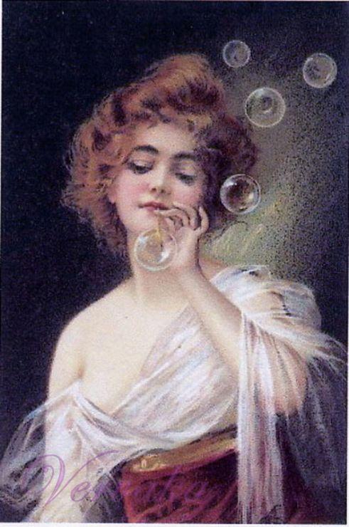 Gallery.ru / Фото #1 - дама с мыльными пузырями - GAVRUCHA