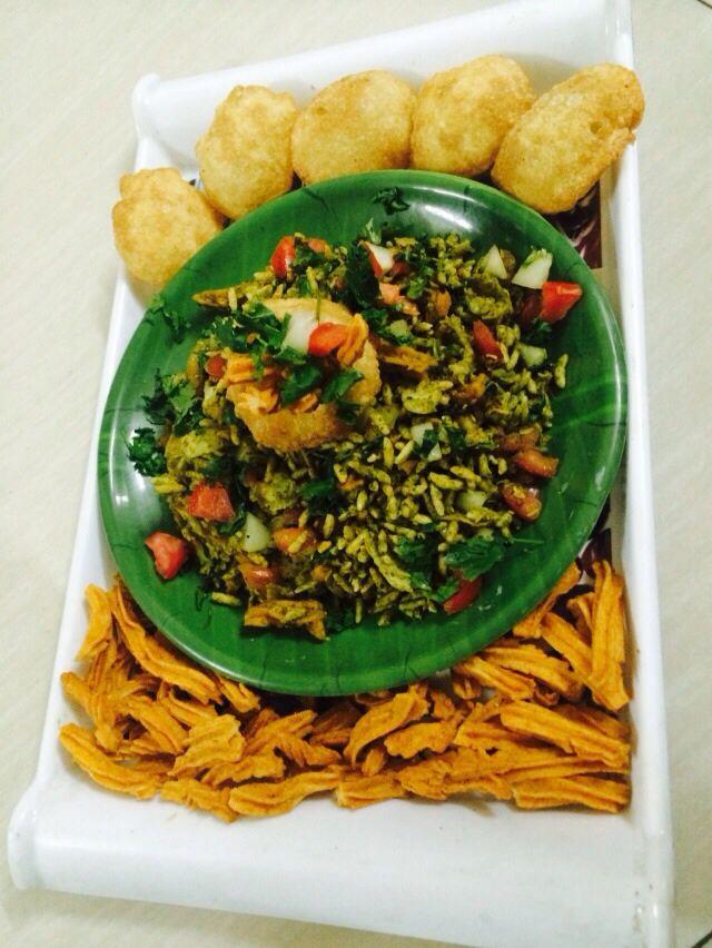 Soya stick bhel  Recipe @ http://jaincoooking.blogspot.in/