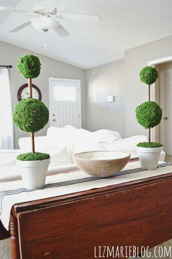 DIY-Gorgeous Moss Topiaries