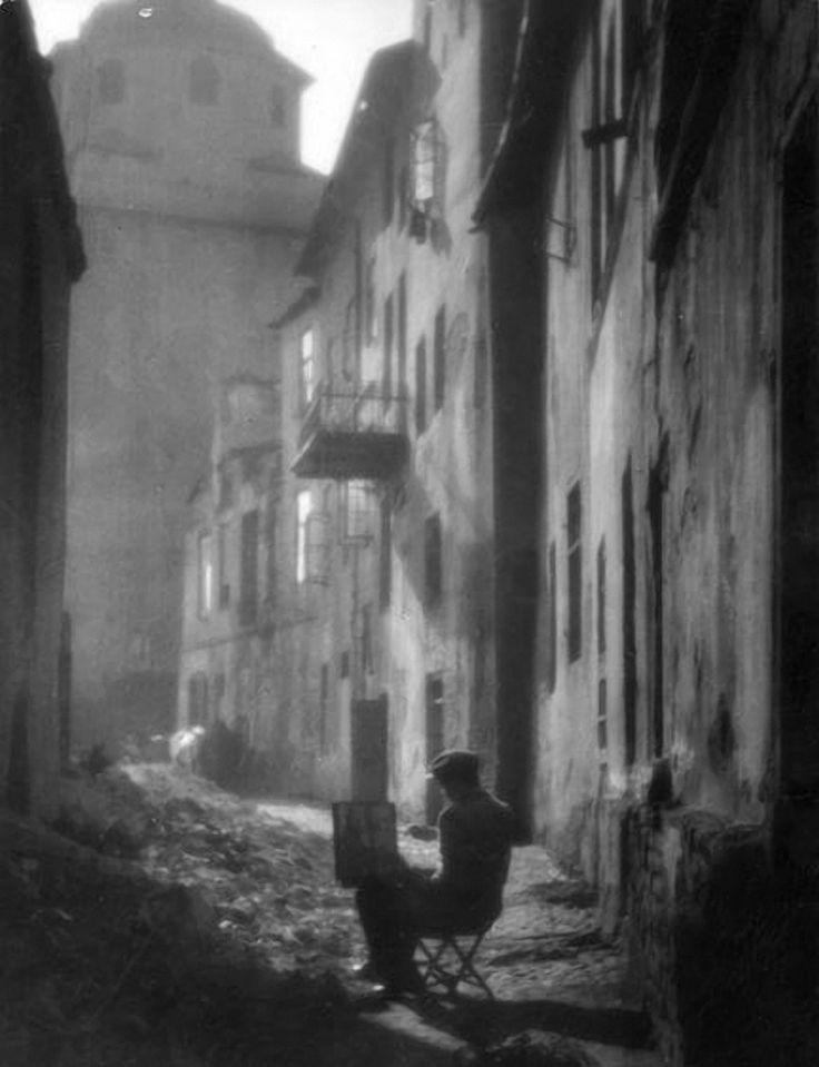 undr:  Edward Hartwig  Stara Uliczka 1930